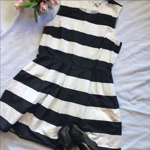 Nautical Gap sleeveless striped dress